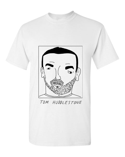 Badly Drawn Tom Huddlestone T-shirt - Derby County FC