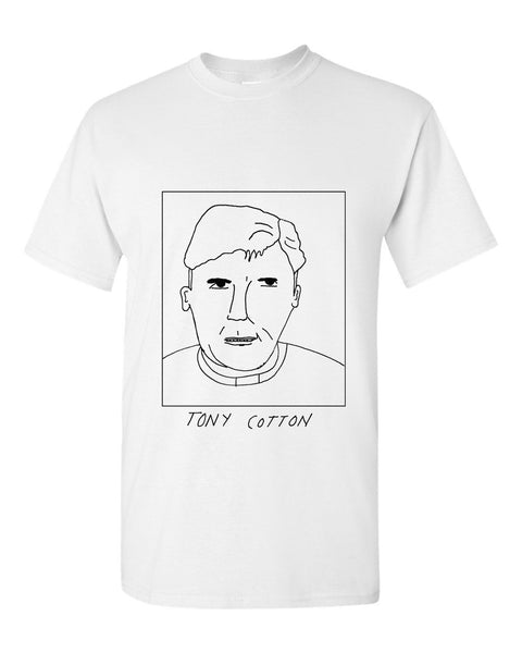Badly Drawn Tony Cotton T-shirt - 1994 Manchester City