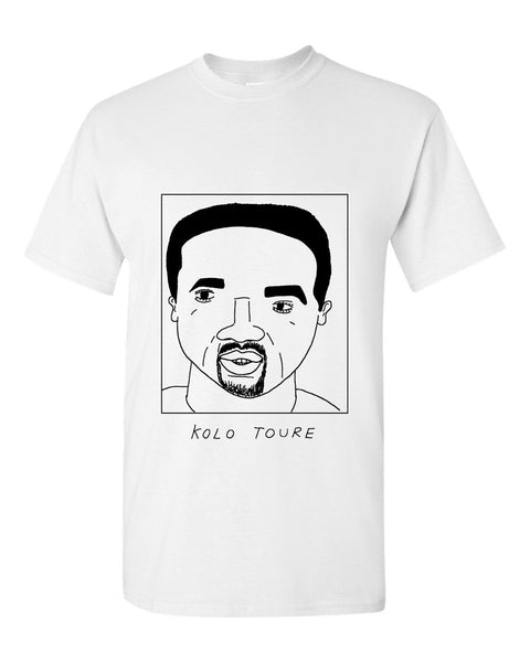 Badly Drawn Kolo Toure T-shirt - Celtic FC