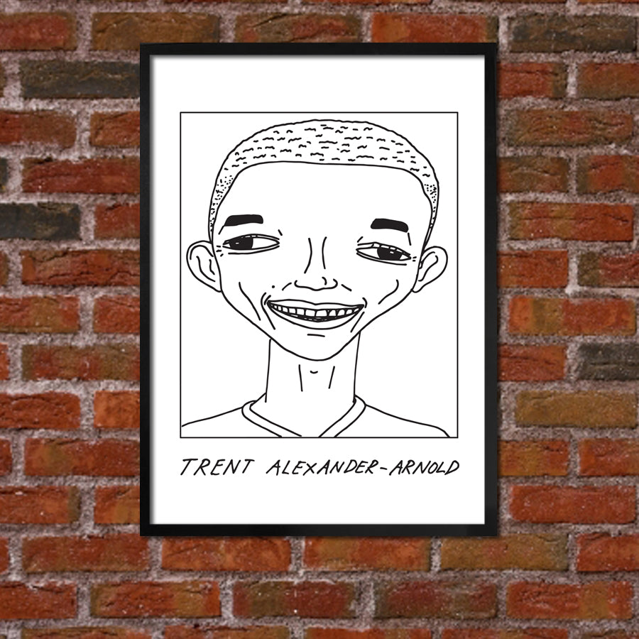 Badly Drawn Trent Alexander-Arnold - Liverpool F.C. Premier League Champions - Poster
