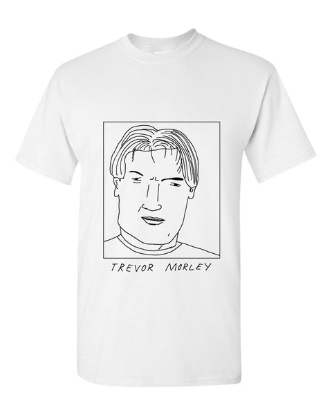 Badly Drawn Trevor Morley T-shirt - 1994 West Ham