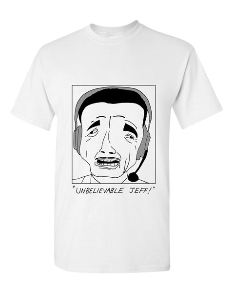"Badly Drawn Footballers - Chris Kamara ""Unbelievable Jeff"" T-shirt"