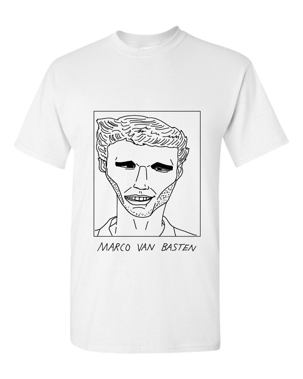 Badly Drawn Marco van Basten T-shirt