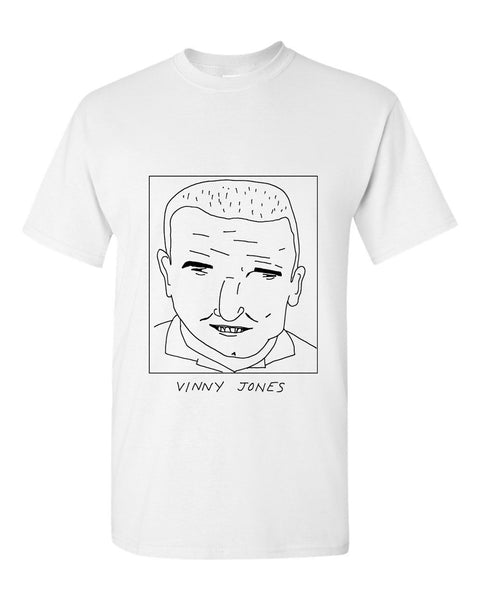 Badly Drawn Vinny Jones T-shirt - 1994 Wimbledon