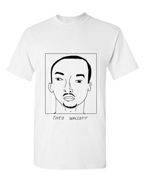 Badly Drawn Theo Walcott T-shirt - Everton FC