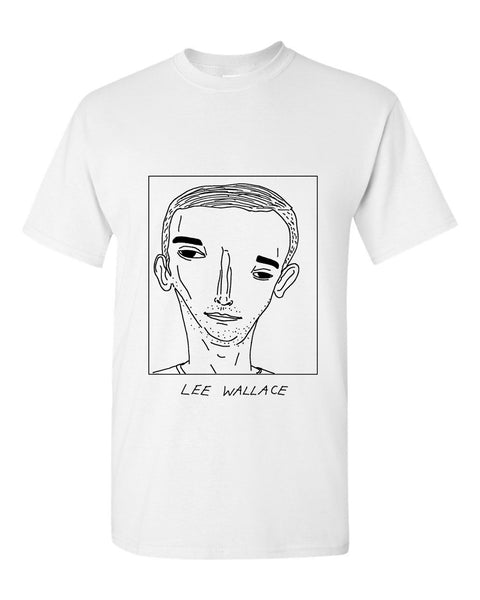 Badly Drawn Lee Wallace T-shirt - Rangers FC