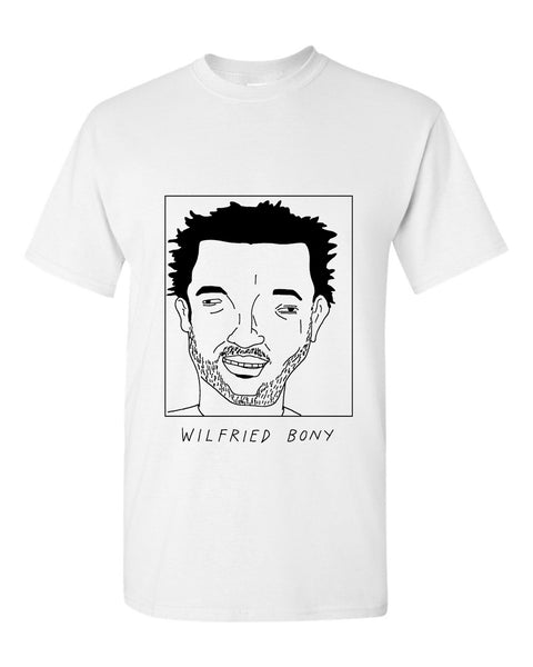 Badly Drawn Wilfried Bony T-shirt - Swansea City AFC
