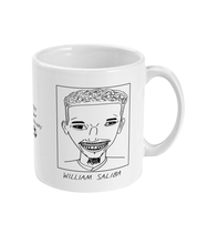 Load image into Gallery viewer, Badly Drawn Footballers Mug - William Saliba