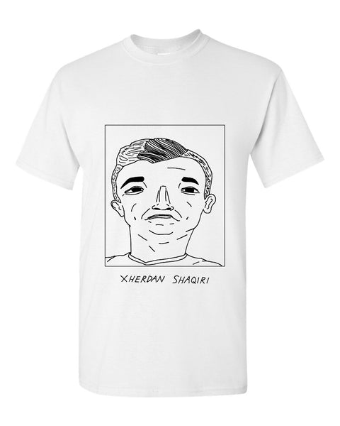Badly Drawn Xherdan Shaqiri T-shirt - Liverpool FC
