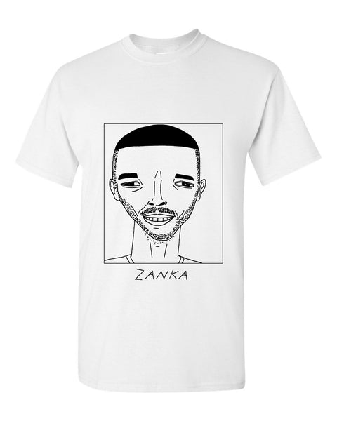 Badly Drawn Zanka T-shirt - Huddersfield Town AFC