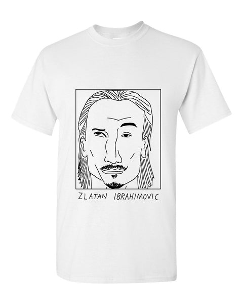 Badly Drawn Zlatan Ibrahimovic - Manchester United FC