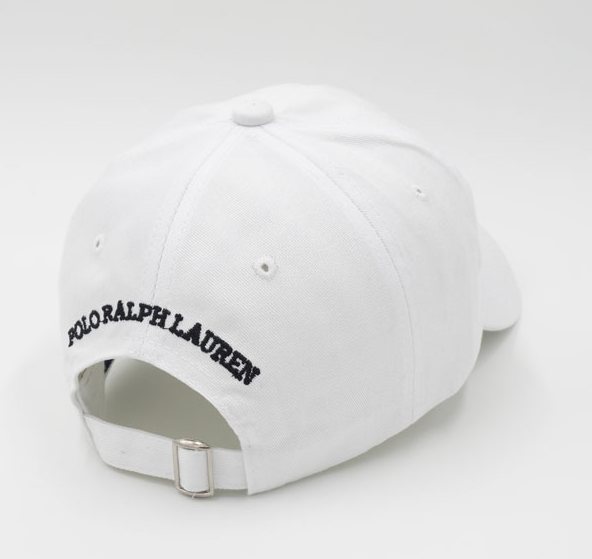 19d287005 White Polo Bear Embroidered Baseball Cap Hat – voguefashionstyle