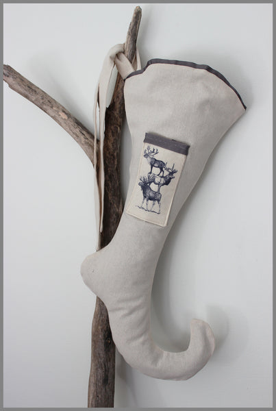 Père David - Couture Christmas Stocking
