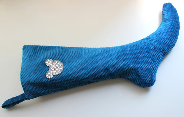 Royal Blue Velvet  - Christmas Stocking