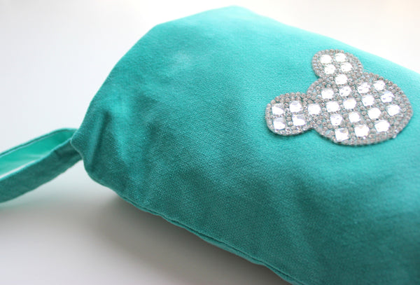 Graceful Teal - Children's Christmas Stocking