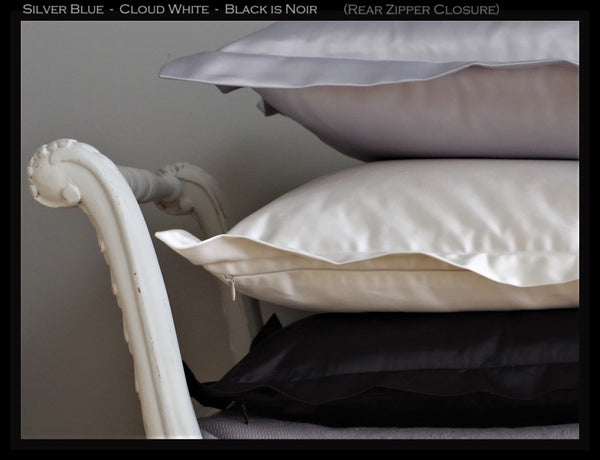 Florence - Black is Noir Cushion Cover