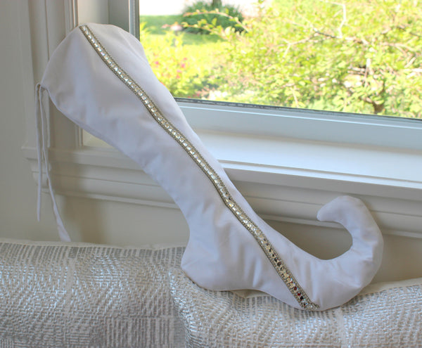 White Whiskey - Couture Christmas Stocking