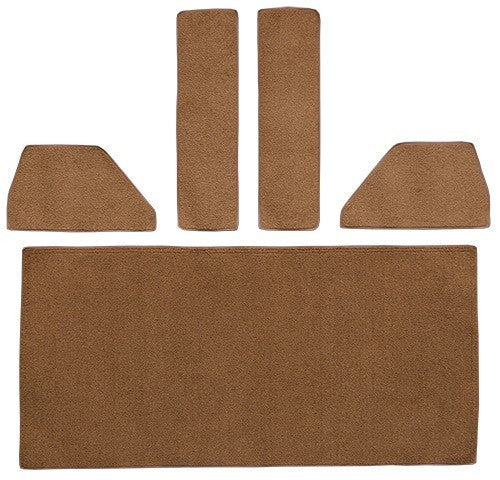 1949-1952 Ford F4 Rear Cab Wall Door & Kick Panels Flooring [Accessory Set]