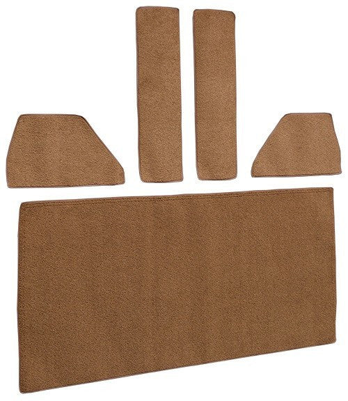 1948-1952 Ford F1 Rear Cab Wall Door & Kick Panels Flooring [Accessory Set]