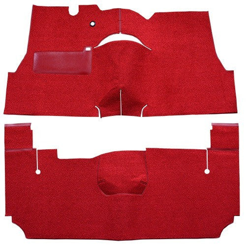 1955-1956 Pontiac Star Chief 2 Door Hardtop Flooring [Complete]