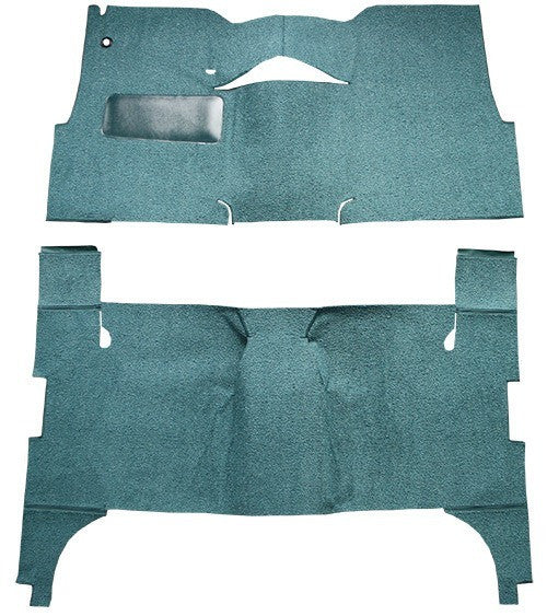 1957 Chevrolet Bel Air 4 Door Sedan Bench Seat Flooring [Complete]