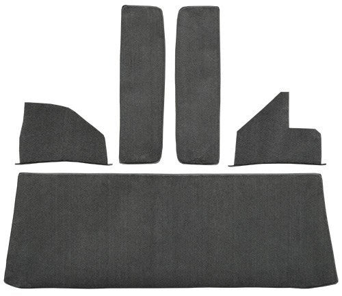 1955-1958 Chevrolet Truck Rear Cab Wall Door & Kick Panels Flooring [Accessory Set]