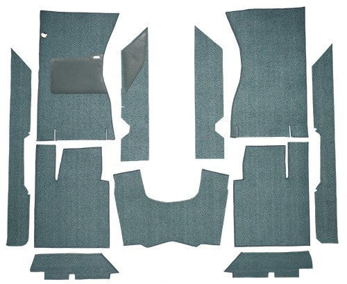 1961-1963 Ford Thunderbird Hardtop & Convertible Flooring [Complete]