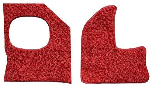 1962-1964 Pontiac Grand Prix Inserts with Air without Boards Flooring [Kick Panel]
