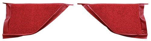 1967-1968 Mercury Cougar Coupe Inserts Flooring [Kick Panel]