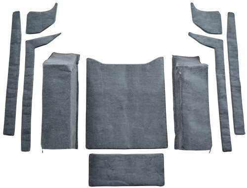 1976-1986 Jeep CJ7  Flooring [Cargo Area]