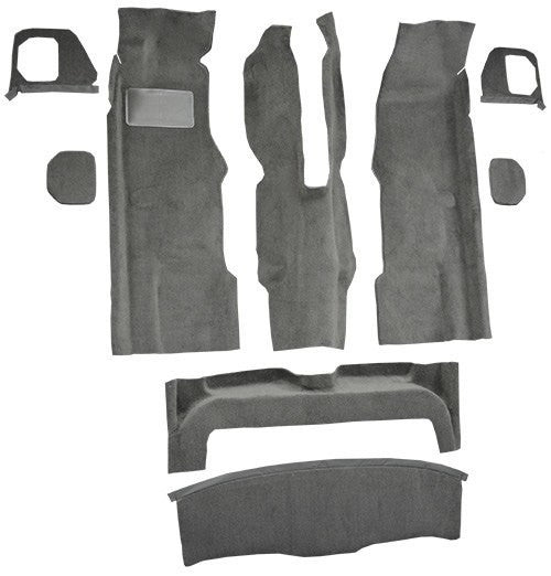 1988-1994 BMW 750iL 4 Door Flooring [Complete]