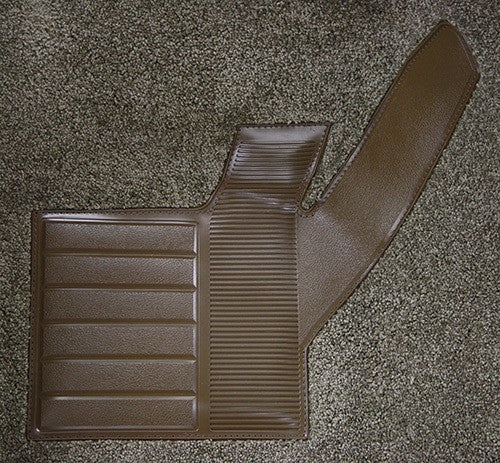 1981-1982 Chevrolet Corvette Front with Console Strips Kick Panels and Door Panels Flooring [Front]
