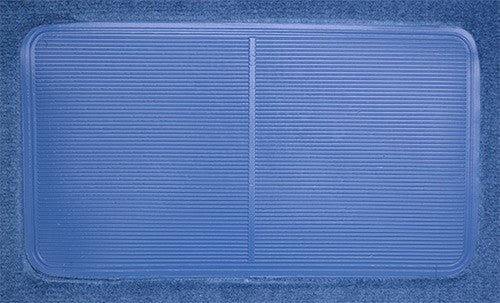1986-1989 Mazda 323 3 Door Hatchback Flooring [Passenger Area]