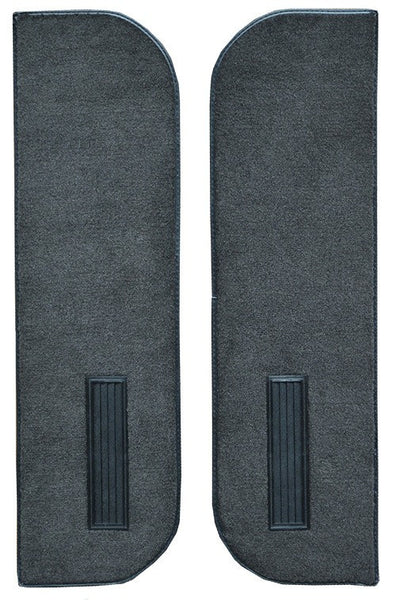 1981-1991 GMC Jimmy Inserts on Cardboard With Vents Flooring [Door Panel]