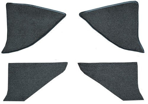 1987-1991 Chevrolet Blazer Inserts with Cardboard Flooring [Kick Panel]