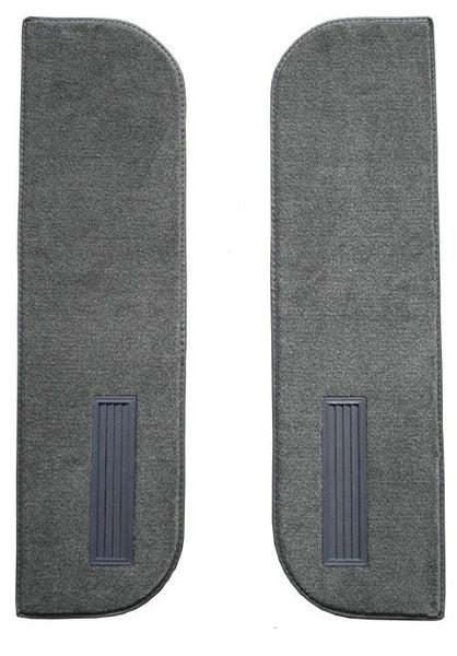 1975-1986 Chevrolet C30 Inserts on Cardboard With Vents Flooring [Door Panel]