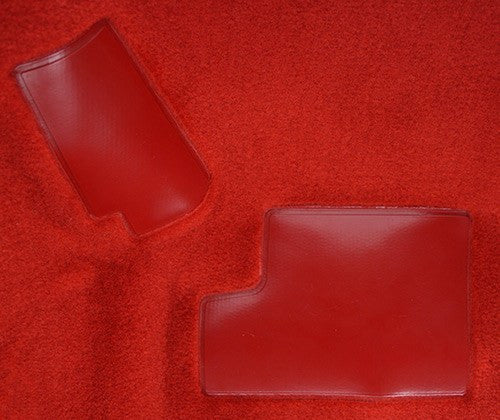 1988-1989 Chevrolet Corvette Front Set with Pad without Door Panels Flooring [Front]