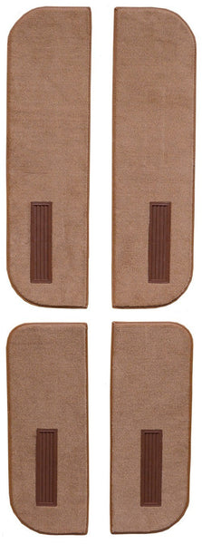 1975-1986 Chevrolet K20 Crew Cab Inserts on Cardboard w/Vent Flooring [Door Panel]