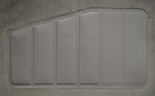 1990-1992 Chevrolet Beretta 2 Door without Heat Vents Flooring [Complete]