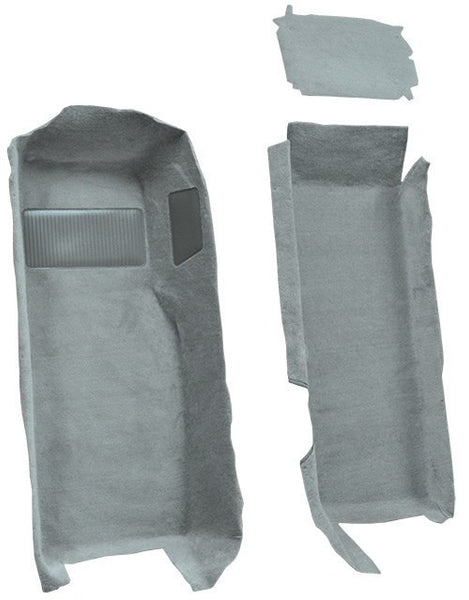 1997-2004 Chevrolet Corvette Front Set with Pad Flooring [Front]