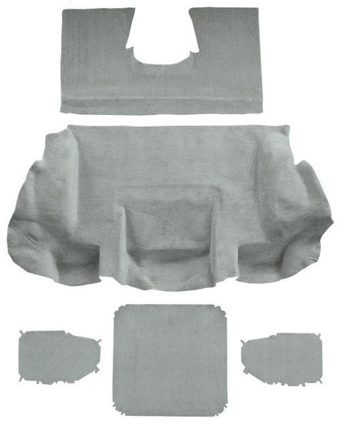 2001-2004 Chevrolet Corvette Convertible Rear Flooring [Rear Area]