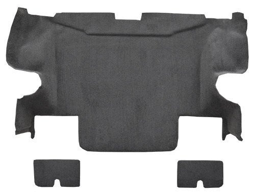 2005-2013 Chevrolet Corvette Convertible Rear with Pad Flooring [Rear Area]