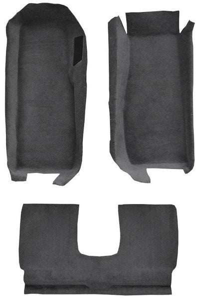 2005-2013 Chevrolet Corvette Coupe Front with Riser with Pad Flooring [Front]