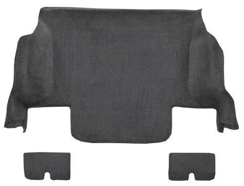 2005-2013 Chevrolet Corvette Coupe Rear with Pad Flooring [Rear Area]