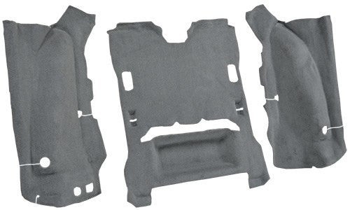 2007-2010 Jeep Wrangler 2 Door Flooring [Cargo Area]