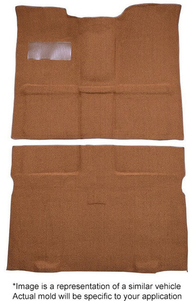 1961-1971 International Scout 800-80 4WD / 8 Cyl / Column Shift Flooring [Passenger Area]