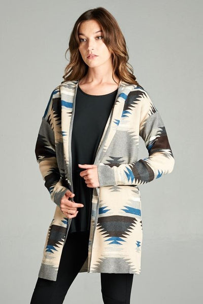 Aztec Cardigan - Oh Deer Boutique