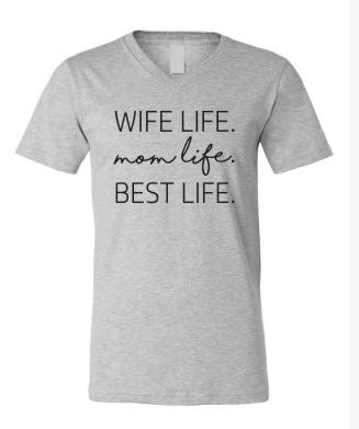 Mom Life Tee - Oh Deer Boutique