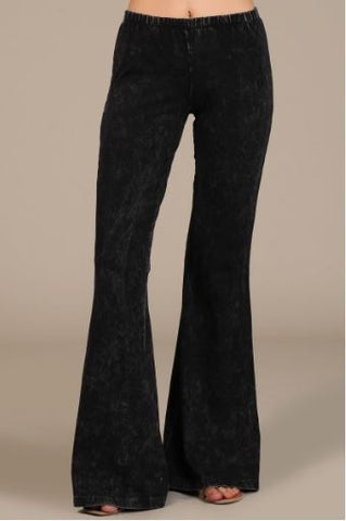 Bell Bottom Legging - Oh Deer Boutique