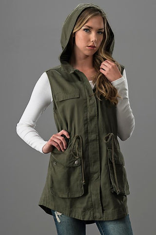 Cargo Vest - Oh Deer Boutique